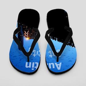 Austin_9x13.6_CongressAvenueBridgeBat Flip Flops