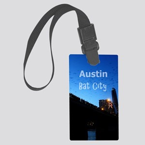 Austin_9x13.6_CongressAvenueBrid Large Luggage Tag