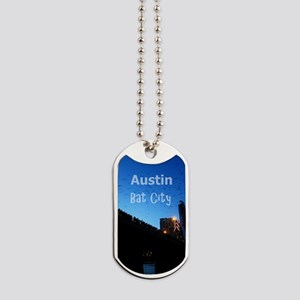 Austin_9x13.6_CongressAvenueBridgeBat Dog Tags