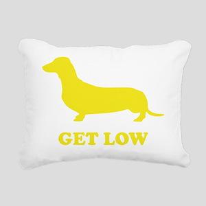 wienerGetLow1D Rectangular Canvas Pillow