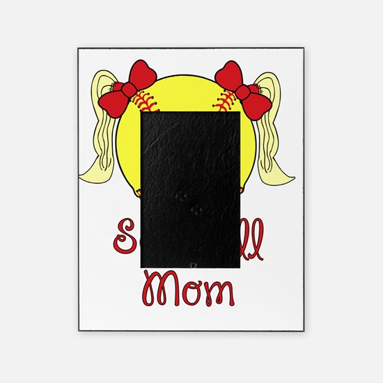 Softball mom blonde Picture Frame