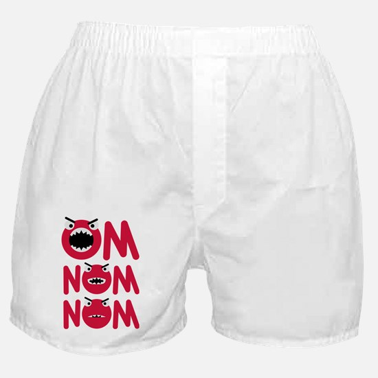 om_nom_nom_monster Boxer Shorts