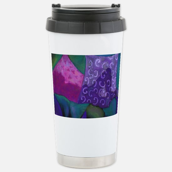 The Hideaway - Purple a Stainless Steel Travel Mug