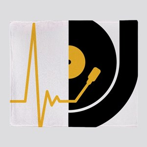 music_pulse_dj Throw Blanket