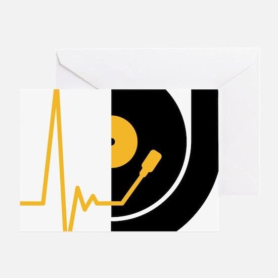 music_pulse_dj Greeting Card