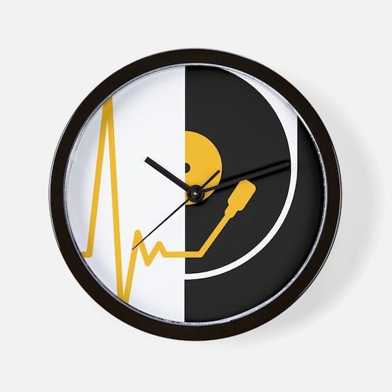 music_pulse_dj Wall Clock