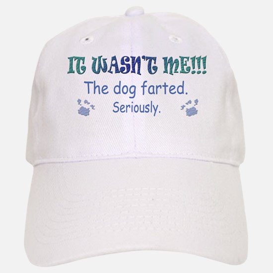 dog farted more dog breeds Baseball Baseball Cap