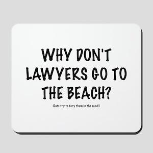 "Lawyers ""Beach"" Mousepad"