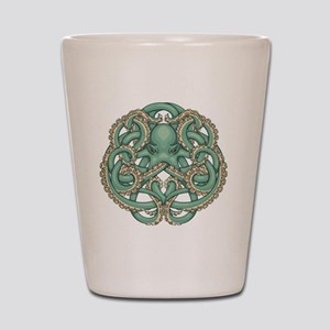 Octopus Emblem Shot Glass