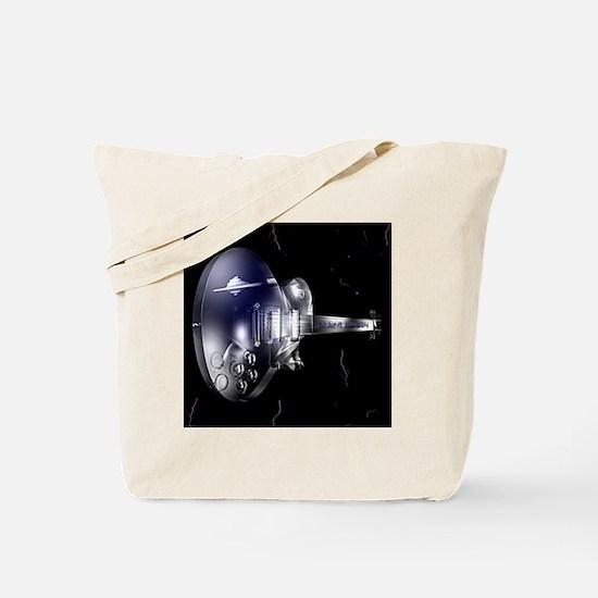 Glass Guitar Tote Bag