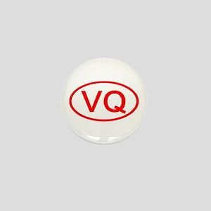 VQ Oval (Red) Mini Button