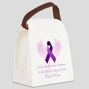 Chiari Awareness Canvas Lunch Bag