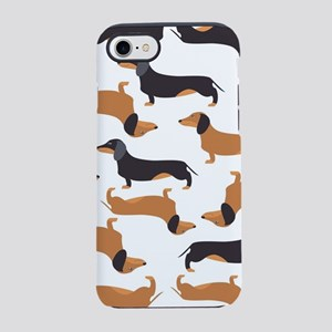 Cute Dachshunds iPhone 7 Tough Case