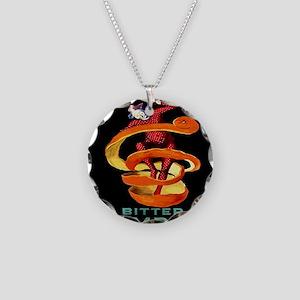 Viintage Cappiello Campari S Necklace Circle Charm