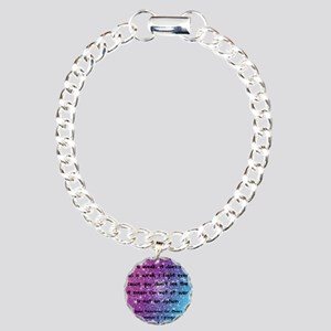 Chiari Syringo Awareness Charm Bracelet, One Charm