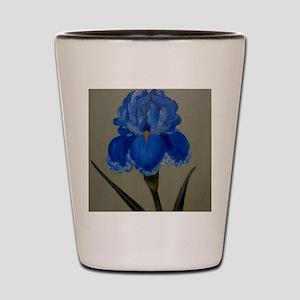 StephanieAM Blue Iris Shot Glass