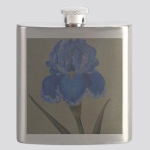 StephanieAM Blue Iris Flask