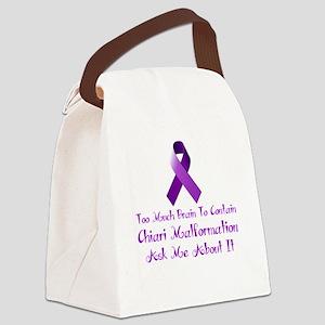 Chiari malformation Awareness Canvas Lunch Bag