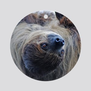 Sloth Twin Duvet Round Ornament