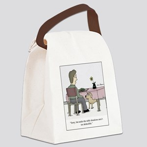 Dog Donation Canvas Lunch Bag