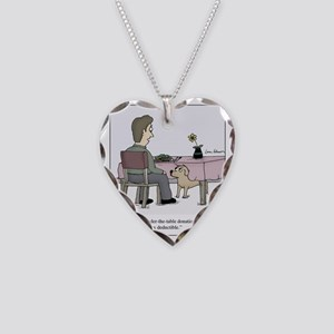Dog Donation Necklace Heart Charm