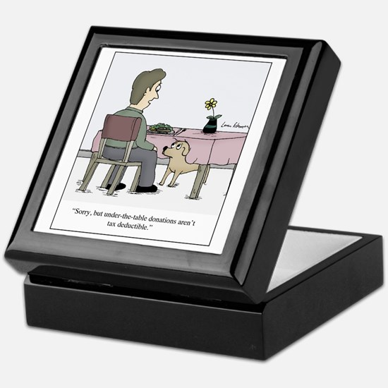 Dog Donation Keepsake Box