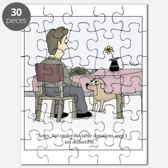 Dog Donation Puzzle