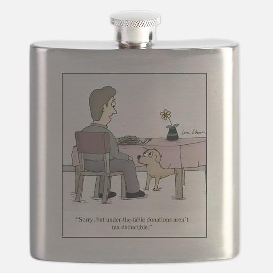 Dog Donation Flask