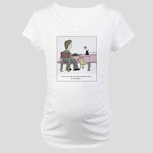 Dog Donation Maternity T-Shirt