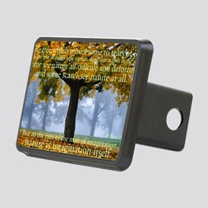 Tree 5 Rectangular Hitch Cover
