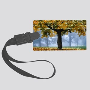 Tree 5 Large Luggage Tag