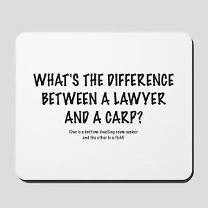 "Lawyers ""Carp"" Mousepad"