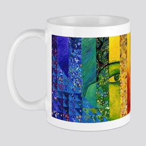 Conundrum I – Rainbow Woman Mug
