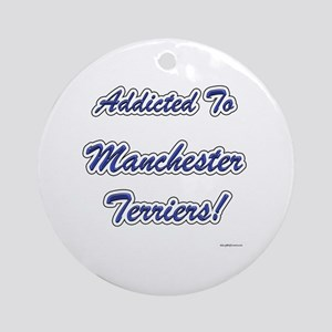 Manchester Addicted Ornament (Round)