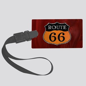 rt66-woodsteel-OV Large Luggage Tag