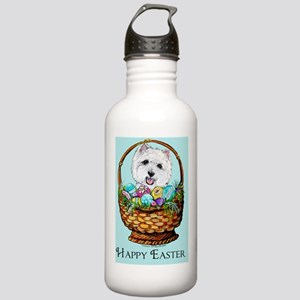 Easter Westie Stainless Water Bottle 1.0L