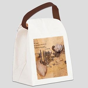 On the Beach Canvas Lunch Bag