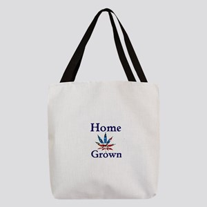 Home Grown Polyester Tote Bag