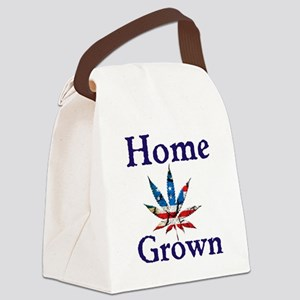 Home Grown Canvas Lunch Bag