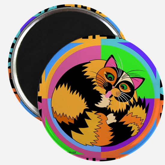 Tortie Kitty Cat Graphics Magnet