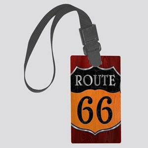 rt66-woodsteel-LG Large Luggage Tag