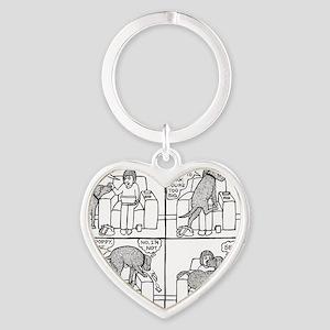 Poppy The Lapdog Heart Keychain