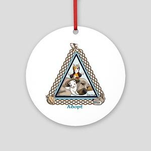 Adopt Celtic Round Ornament