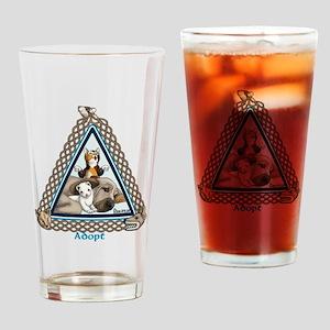 Adopt Celtic Drinking Glass