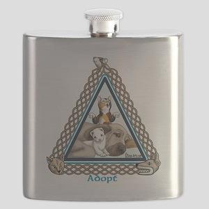 Adopt Celtic Flask