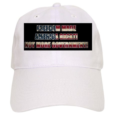 Freedom Not Government BF Cap