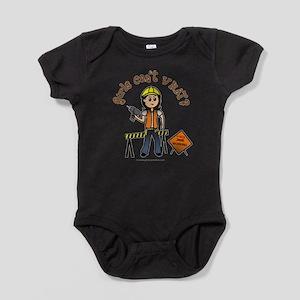 Light Construction Worker Infant Bodysuit Body Sui