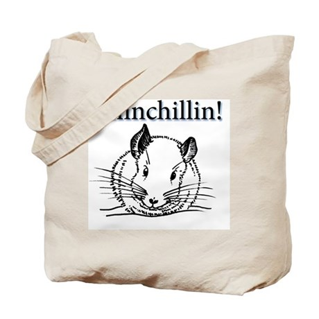 Chinchillin Tote Bag
