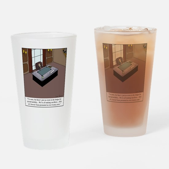 CEO Promotion Drinking Glass
