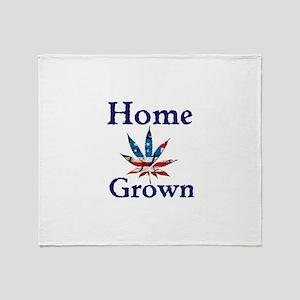 Home Grown Throw Blanket